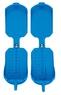 Резиновые накладки  SIDAS  на горнолыжные ботинки Голубые!  Traction (one size)