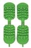 Резиновые накладки  SIDAS  на горнолыжные ботинки Зелёные!  Traction (one size)